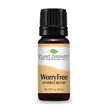 Worry Free Synergy Essential Oil Blend from Plant Therapy - 10ml