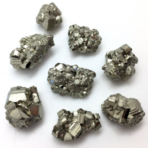 Pyrite - medium raw stones - single or sets