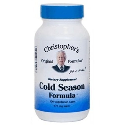 Dr. Christopher's Cold Season Formula - 100 capsules