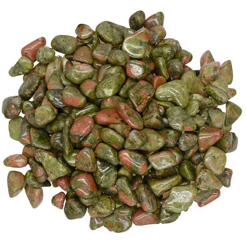 Unakite - small polished stones - single or sets