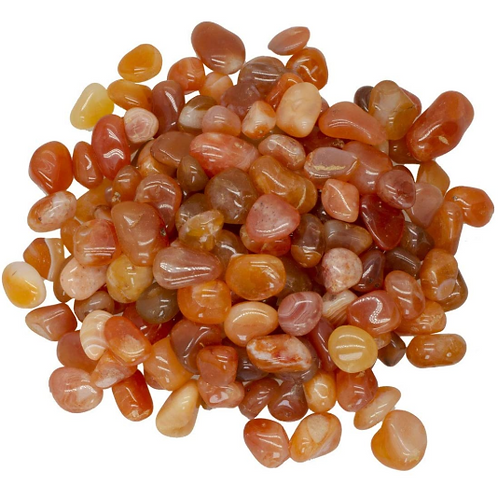 Carnelian - small polished stones - single or sets