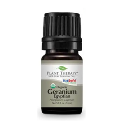 Organic Geranium (Egyptian) Essential Oil from Plant Therapy - 5ml