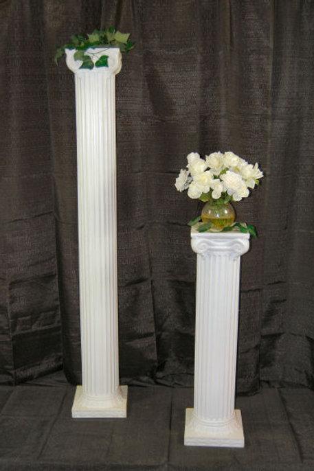Pillars- White