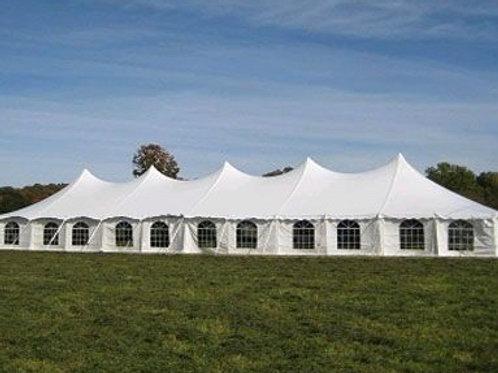 40x160 Pole Tent