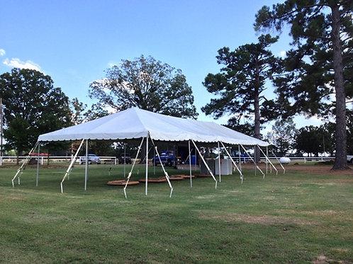 30x75 Pole Tent