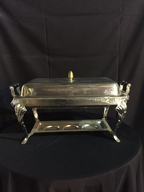 Chafing Dish- Fancy Stainless