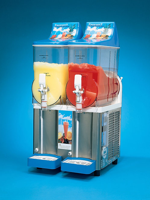 Double Barrel Slush Machine