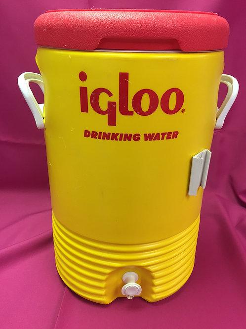 Cooler With Spigot