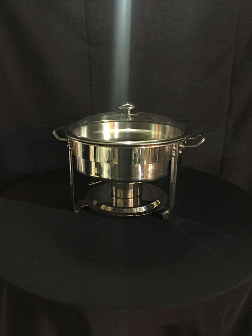 Chafing Dish- Stainless Small Round