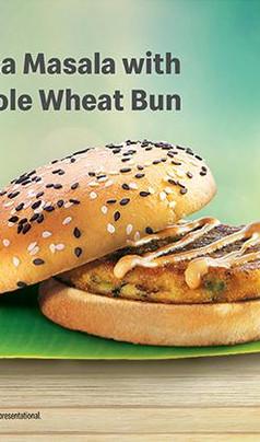 McDonald's Dosa Masala Burger