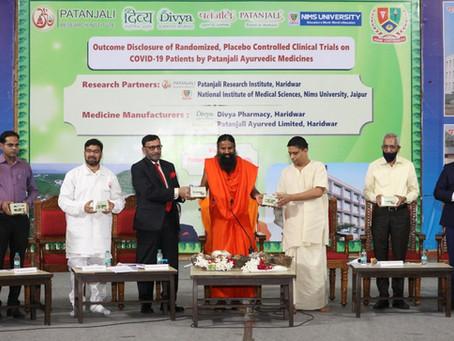 Swadeshi Coronavirus vaccine: Patanjali's Coronil