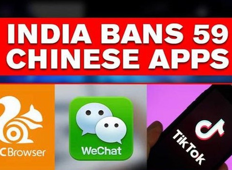 Government bans 59 Chinese apps