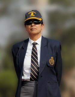 Meeran Borwankar, Indian Police Service (IPS) Officer in uniform