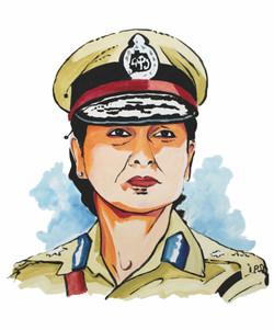 Meeran Borwankar, Indian Police Service (IPS) Officer