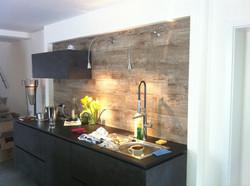 Designer Küchenwand