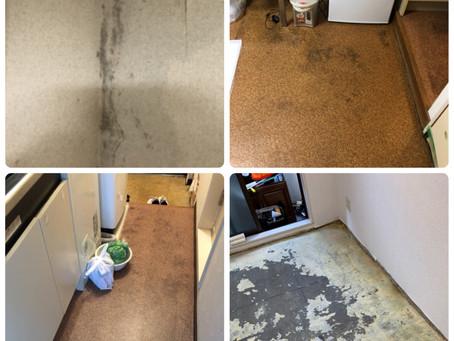 水漏れ被害部屋☆