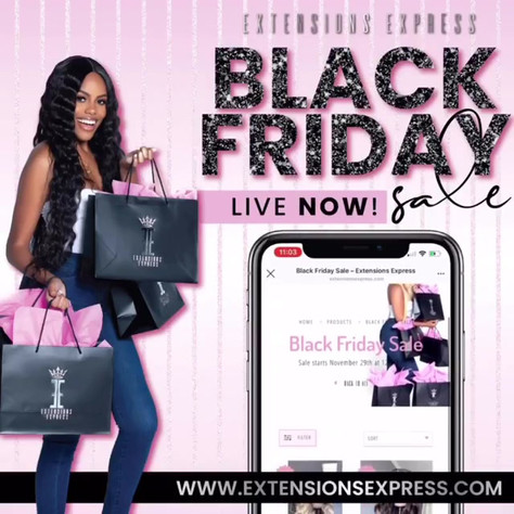 Extensions Express | Black Friday Sale F