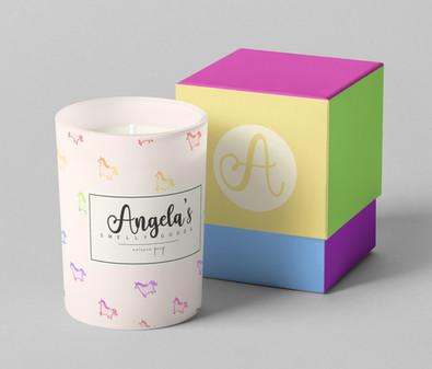 Candle Product Mockup