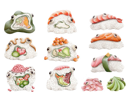 Sushi Monsters