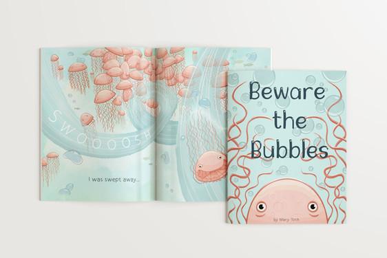 Bubble Book Mockup