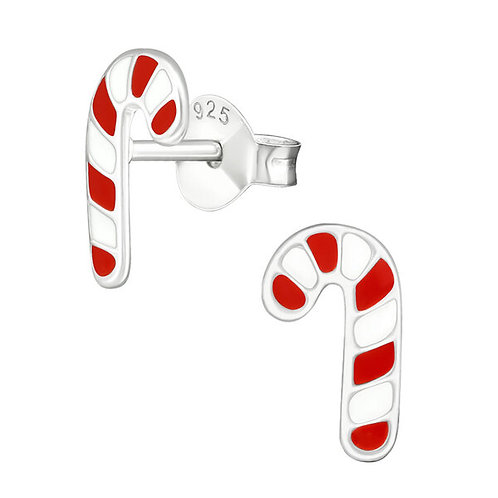 Candy Cane Studs