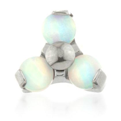 Titanium White Opal Trio