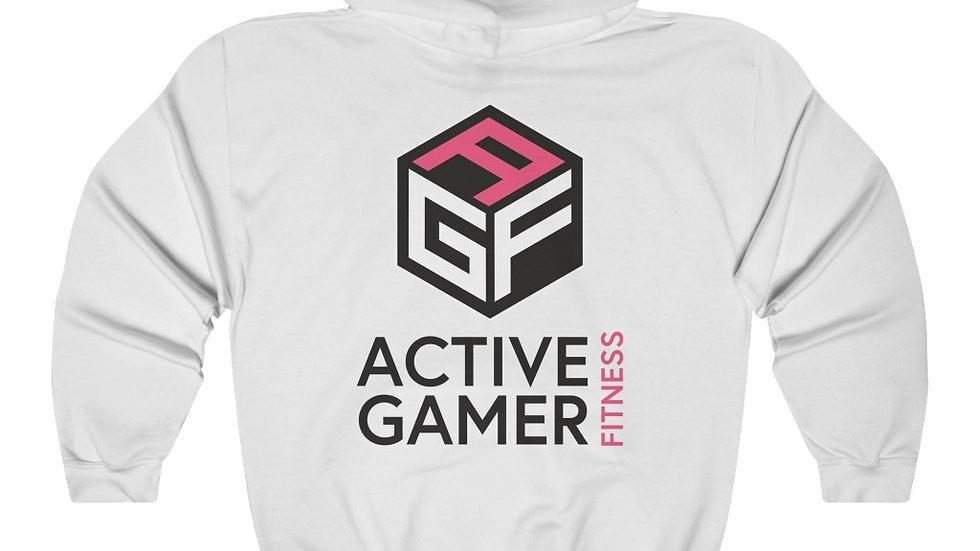 AGF back print ( black letters ) Hooded Sweatshirt