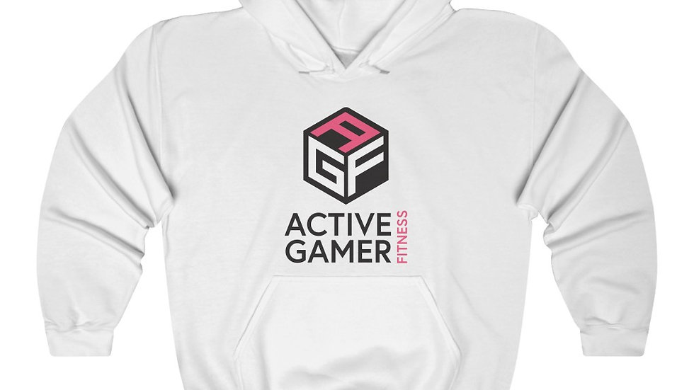 AGF Front Print (Black Letters)  Hooded Sweatshirt