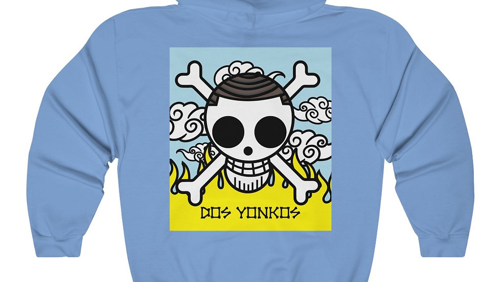 Dos Yonkos Back Print  Unisex Heavy Blend™ Hooded Sweatshirt