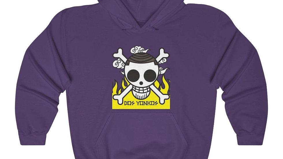 Dos Yonkos Front Print Hooded Sweatshirt