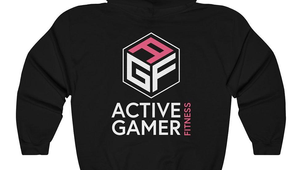 AGF Back Print (white Letters)  Hooded Sweatshirt