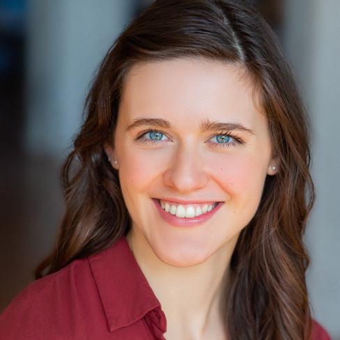Commercial Headshot, Abigail Hendricks