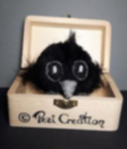Krähe Crow mimi Plushie
