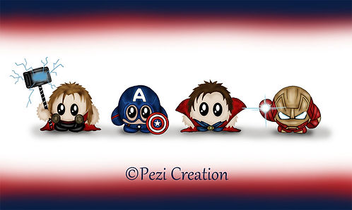 avengers thr dr.strange ironman captain america