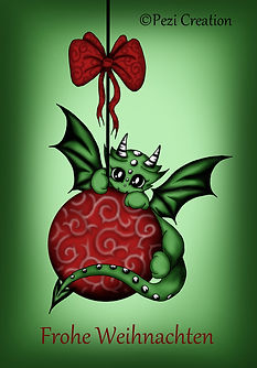 kugel dragon xmas poster text_text wz.jp