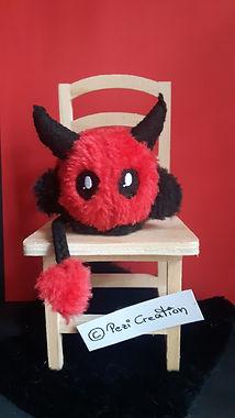 devil plushie