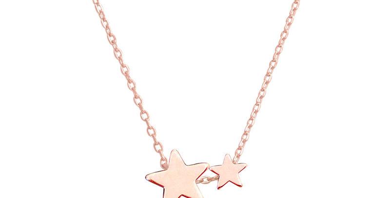 Kette Kaja 925 Sterling Silber rosévergoldet