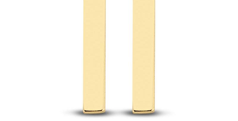 Ohrstecker Lena 585 Gelbgold