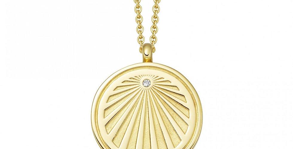 Kette Malena 925 Sterling Silber vergoldet