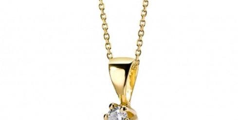 Kette Ebbi 585 Gelbgold Brillant