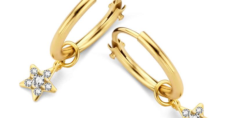 Ohrhänger Kaja 585 Gelbgold