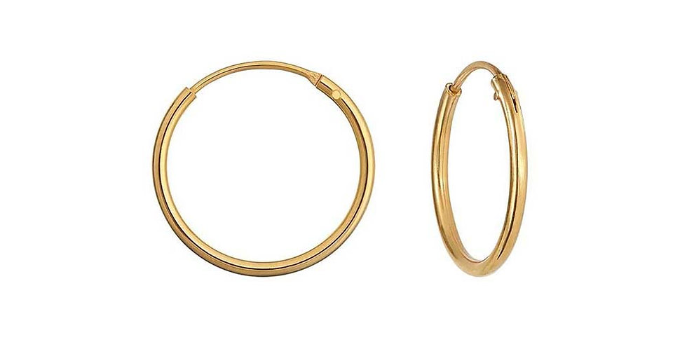 Ohrhänger Emilia 925 Sterling Silber vergoldet