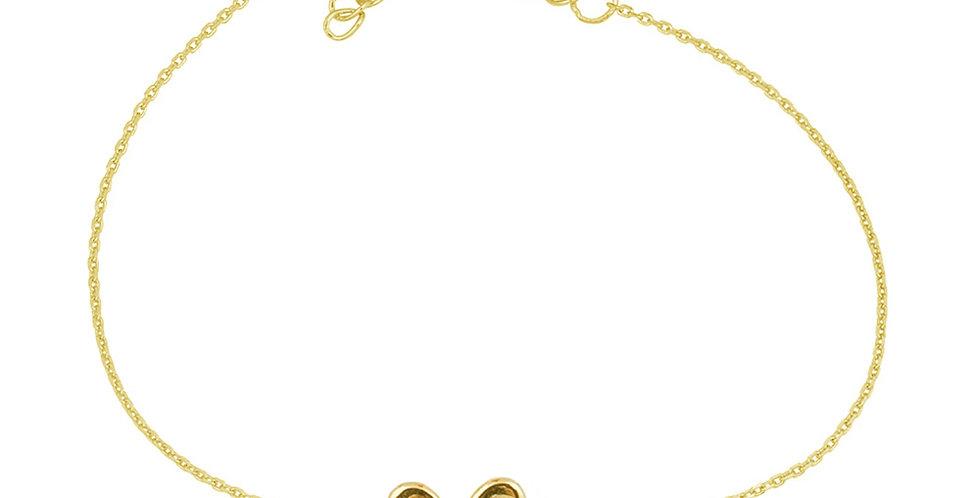 Armband Liv 925 Sterling Silber vergoldet