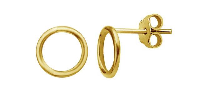 Ohrstecker Emilia 925 Sterling Silber vergoldet