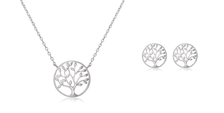 Geschenkset Charlotta 925 Sterling Silber
