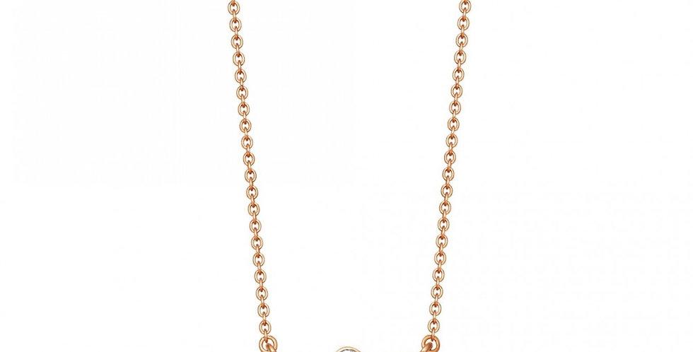 Kette Sophia 925 Sterling Silber rosévergoldet