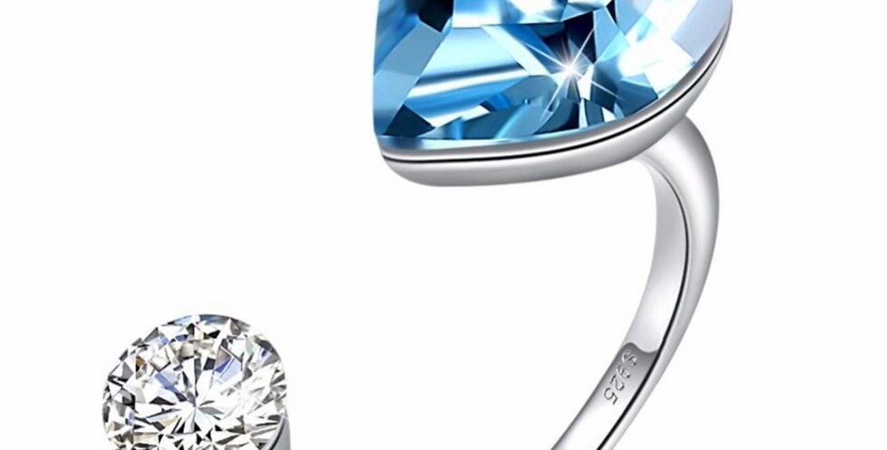 Ring Elli 925 Sterling Silber Swarovski