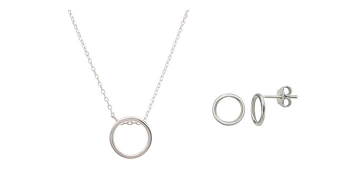Geschenkset Emilia 925 Sterling Silber