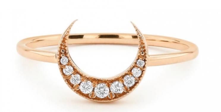 Ring Mahina 925 Sterling Silber rosévergoldet Zirkonia