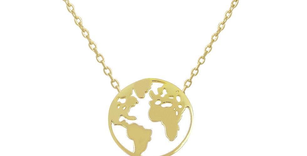 Kette Elenor 925 Sterling Silber vergoldet
